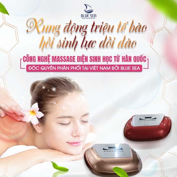 Máy Massage Trị Liệu Điện Sinh Học R4U Bio Magic Hand