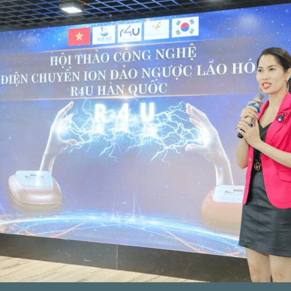 CEO Nguyễn Tâm Uyên - giám đốc công ty TNHH Bluesea.