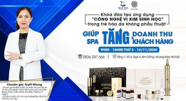 Khoá học ngày 16/11 tại công ty Bluesea Kim Đồng.