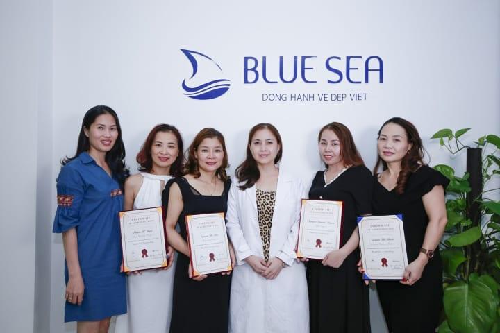 Những khoá học bổ ích tại công ty Bluesea tổ chức.