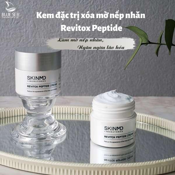Kem đặc trị xóa mờ nếp nhăn Revitox Peptide 50ml